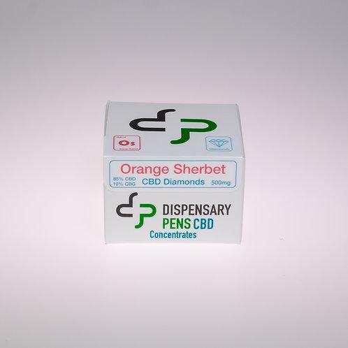 Orange Sherbet CBD Diamonds - 500mg