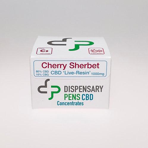 Cherry Sherbet Broad-Spectrum CBD 'Live Resin' 1000mg