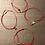 Thumbnail: Red String Adjustable with Evil Eye Bracelet