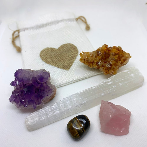 Manifestor's Crystal Healing Pouch