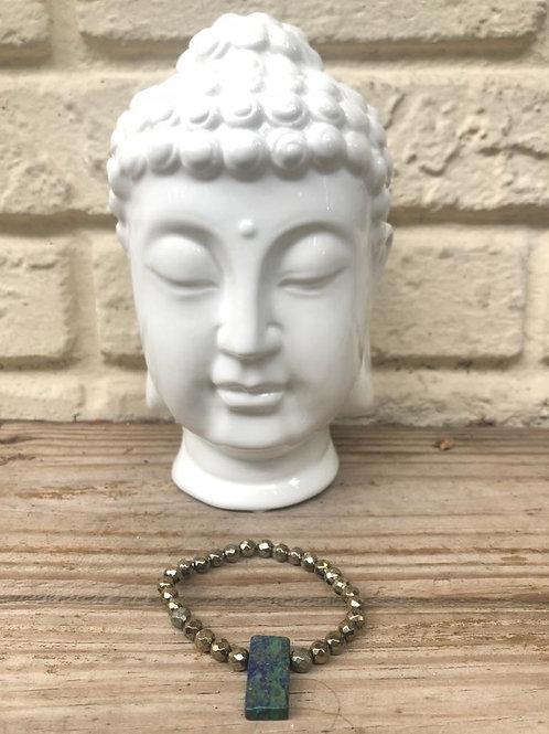Porcelain Meditation Buddha