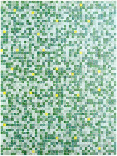 Estudios de retículas. Teselas T III. 2018. Fotografía y montaje digital. Archival pigment print. 42 x 31.5 cm Edición de 6 + PA