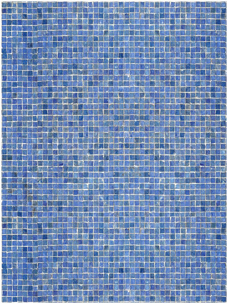 Estudios de retículas. Teselas T V. 2018. Fotografía y montaje digital. Archival pigment print. 42 x 31.5 cm Edición de 6 + PA