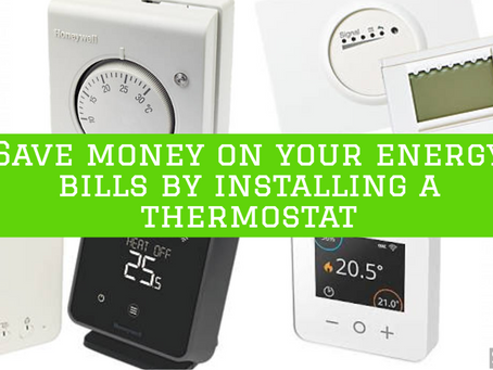 Save money on your energy bills, fit a thermostat!