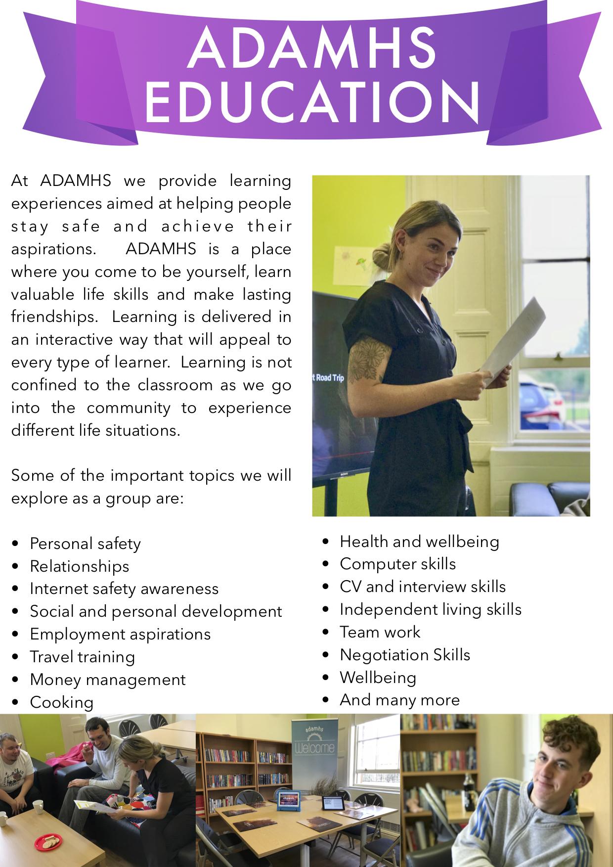 ADAMHS brochure OCTOBER  3