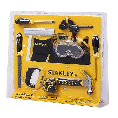 Stanley Jr - Ensemble d'outils 10 morceaux