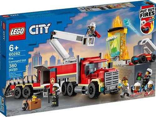 LEGO City - L'unité de commandement des pompiers