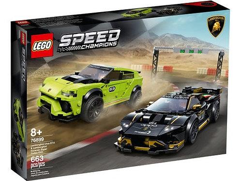 LEGO Speed Champions - La course des Lamborghini