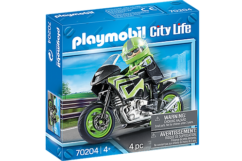 Playmobil - Pilote et Moto