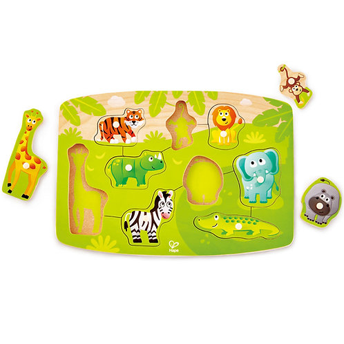 Hape - Puzzle à boutons de la jungle