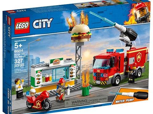 LEGO City - L'Incendie dans le Bar à Burgers