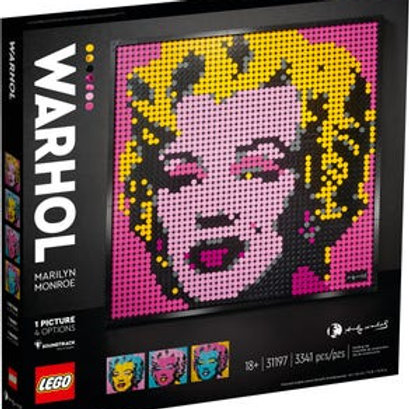 LEGO Art - Andy Warhol's Marylin Monroe