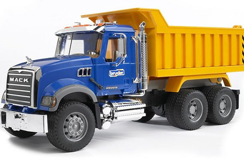 Bruder- Camion dompeur Mack