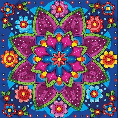 Jacarou - Mandala fleuri