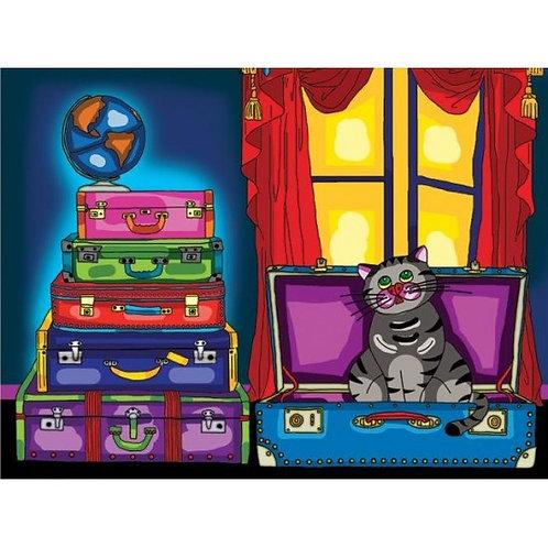 Jacarou - Le chat dans la valise