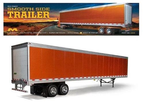 Moebius  - 1/25 53' smoot side trailer