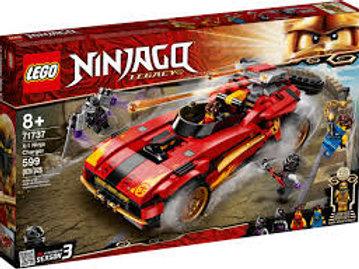 LEGO Ninjago - Le chargeur Ninja X-1