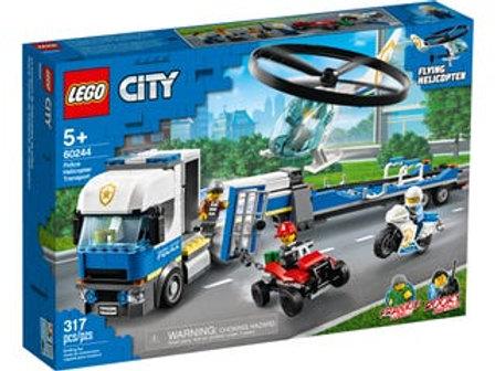 LEGO  City - Le transport de l'hélicoptère de la police