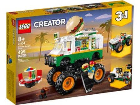 LEGO  Creator - Le monstrer truck à hamburgers