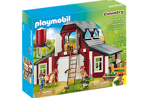 Playmobil - Ferme avec silo