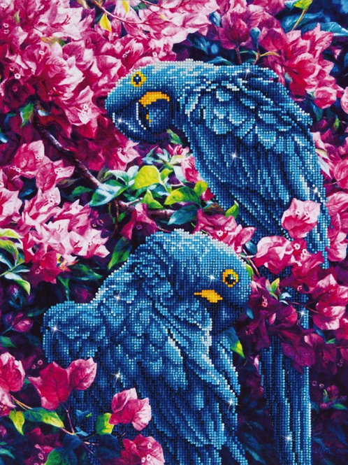 Diamond Dotz - Blue Parrots