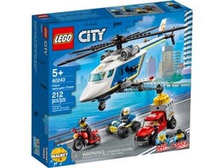 LEGO City - L'arrestation en hélicoptère