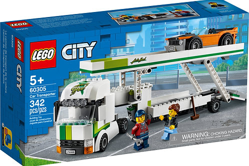 Lego City - Le transport de voiture
