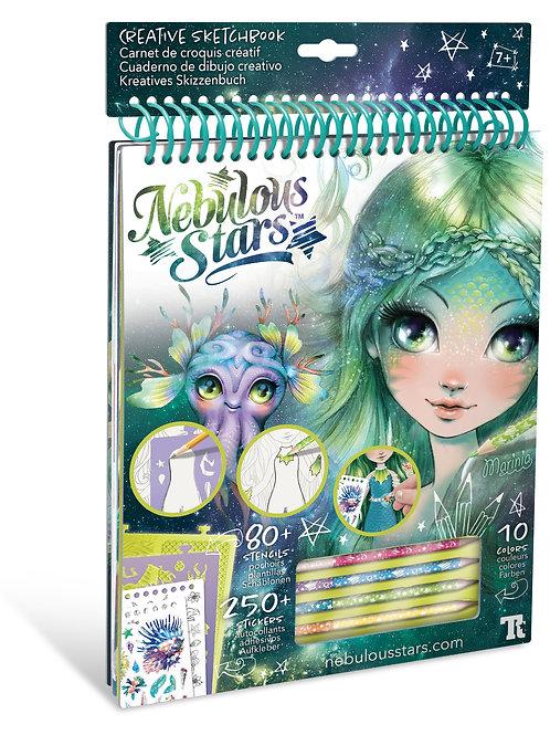 Nebulous Stars -  Carnet de croquis créatif (Marinia)