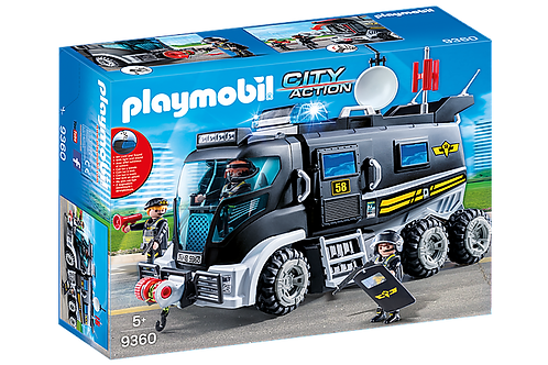 Playmobil - Camion des policiers d'élite