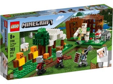LEGO Minecraft  - L'avant-poste des pillards