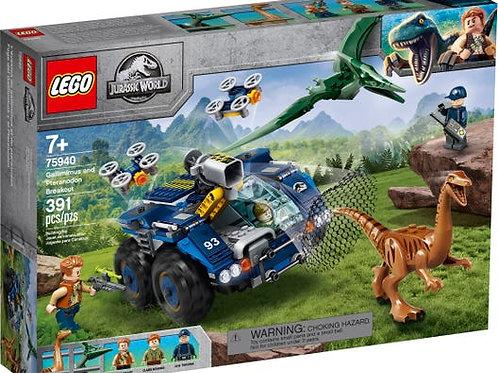 LEGO Jurassic World - L'évasion du Gallimimus