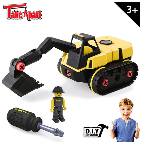 Stanley Jr - Excavatrice à construire