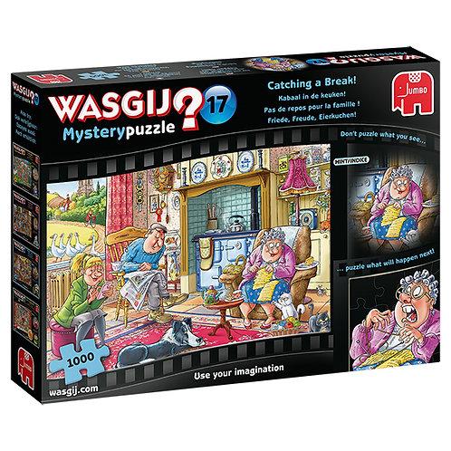 Jumbo Wasgij mystère 17 : Une bouchée pour chacun 1000 pcs