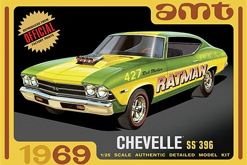 AMT - 1/25 '69 Chevelle ss396