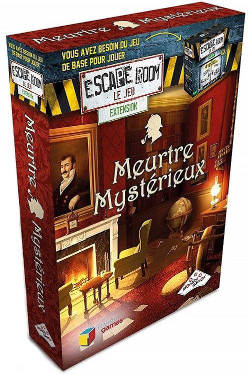 Escape Room : Meurtre mystérieux (EXTENSION)