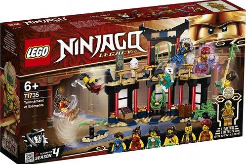 LEGO Ninjago - Le tournoi des éléments