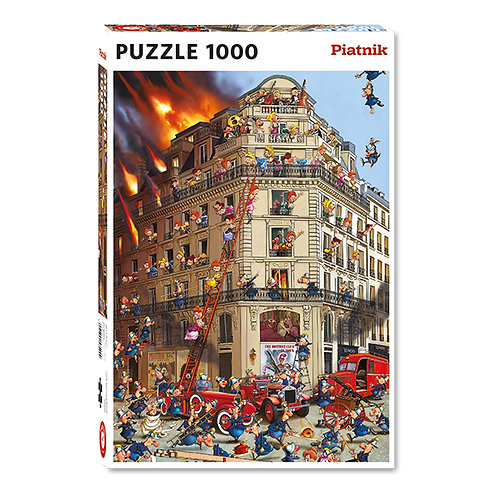 Piatnik - Pompiers 1000 pcs