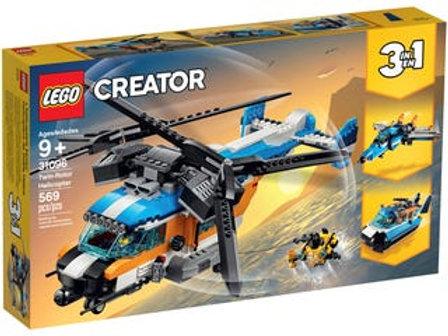 LEGO Creator - L'hélicoptère birotor