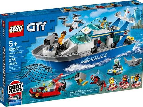 LEGO City - Le bateau de patrouille