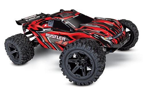 Traxxas - Rustler 4X4 XL-5 RTR rouge