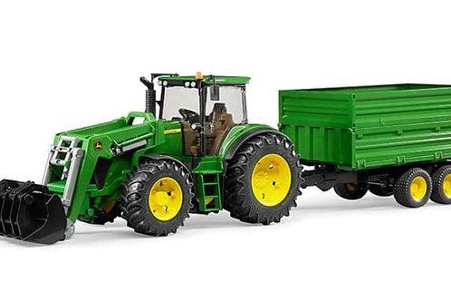 Bruder - Tracteur et remorque John Deere