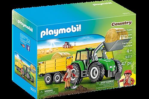 Playmobil - Tracteur et remorque