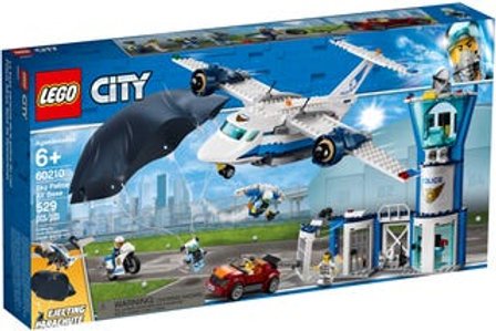 LEGO  City - La base aérienne de la police du ciel