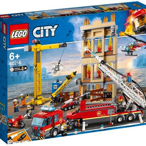 LEGO City - Les pompiers du Centre-Ville