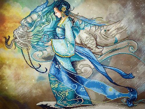 Diamond Dotz - Dragon princess
