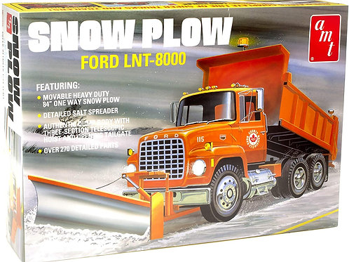 AMT - 1/25 Ford LNT-800 Snow Plow