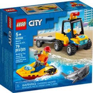 LEGO City - Le tout-terrain de secours de la plage
