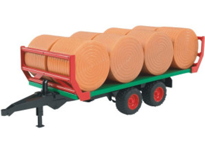 Bruder -  Remorque de transport à balles de foin