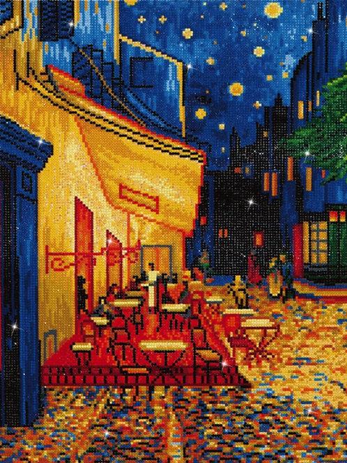 Diamond Dotz - Café at Night (Van Gogh)