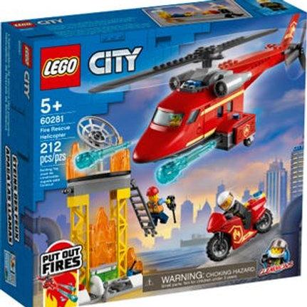 LEGO City - L'hélicoptère de secours des pompiers